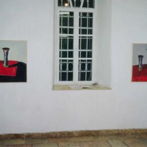 מתוך התערוכה של מוטה ברים ואילן ברוך בסדרת נדבך 1