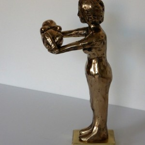 An Oscar for my Daughter, the Surrogate, 2015, bronze