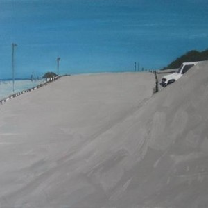 4X4, 2006 Oil on canvas 106X73