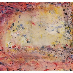 To converse with that which is silent, 1997 Watercolors 56.5X76 cm