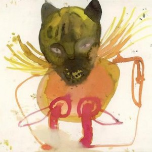 Ruth Ben-Yaakov, Bad spirit, 2005, ink on paper 42X30