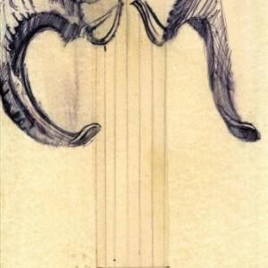 Jonathan Hirschfeld, Demon, 2006, ballpoint pen on paper 34x24.5