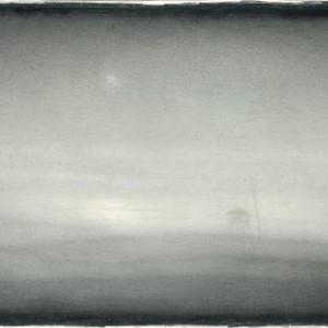 Boris Lekar, Sea (Lifeguard Post), 2007, aquarelle pencil on paper 39X58