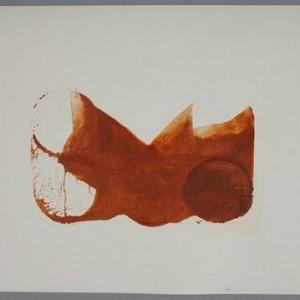 Micha Ullman, Sand Glasses, (No. 561) 2006, sand on paper 42x30