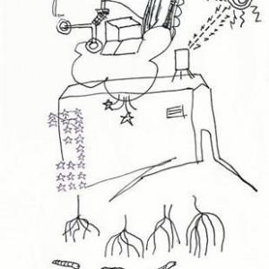 Shai Yehezkelli, Untitled, 2004, ink on paper 21.5X14