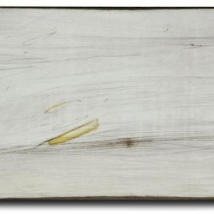 Nona Orbach, War Diary, 2006, watercolors and engraving on wood 27x17x1