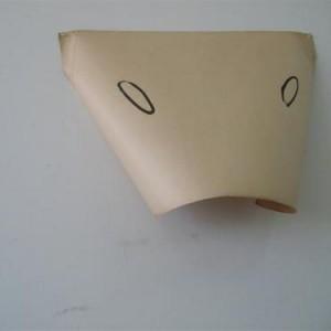 Eli Petel, Body, 2006, ink on paper 65x50x15