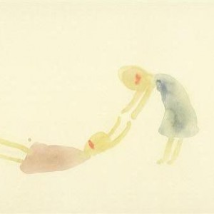 Tamar Barkai, Untitled, 2007, watercolor on paper 21X28.5
