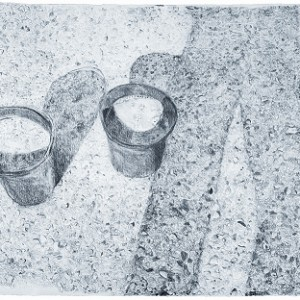 Vered Aviv, Untitled, 2007, pencil on paper 57X76
