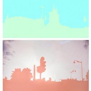 Einat Arif-Galanti, Line Ho Line, 2007, digital imaging 60x40, 60x50