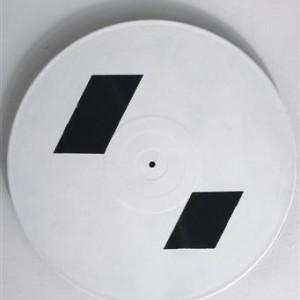 Yanai Segal, RE-Boot, 2007, gesso on records