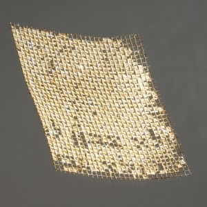 But I cannot perceive him, (Job, 23, 8), 2009 porcelain on mesh 10x12