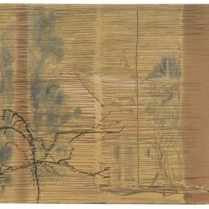 Window and Venetian blind, 2006 oil on wood 38x40