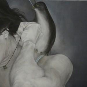 """ללא כותרת - עופר יונת, 2009 , שמן על בד, 60X50 ס""""מ"""