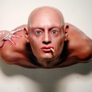 """ללא כותרת - גור-אריה אלי, 2002 , חומרים פולימריים מגולפים ויצוקים, 45X65X60 ס""""מ"""