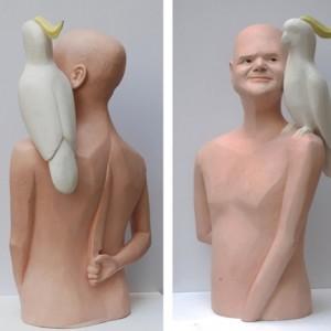 ללא כותרת - ארד בועז,  2008 , פוליאסטר צבוע