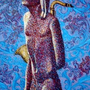 """כרזה לפסטיבל ישראל, ירושלים - זיו אלדד,  1988 , 70X100 ס""""מ"""