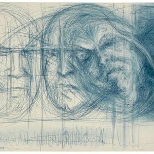 Sylvi Sany, Mama (detail), 2004, pastel crayon on paper 50x65 cm
