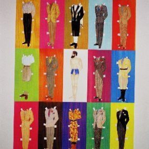 """הרצל (הכרזה) - בוקובזה אליהו אריק, 2004 , הדפס ז'קלה, 60 X 67 ס""""מ"""