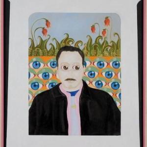 """דיוקנו של אליהו אריק בוקובזה - בוקובזה אליהו אריק, 2006 , שמן על בד ומסגרת עץ 73 X 93 ס""""מ"""