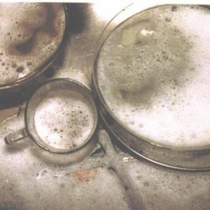 Here (the sink series) - Shalom Dafna, 1998, color photography