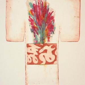 ללא כותרת - אורסתיו ג'ודי, 2006 , תחריט, chine collee