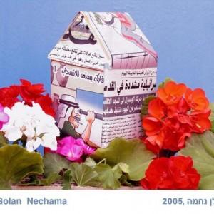 נחמה גולן - דימוי מתוך תערוכת דור המדבר