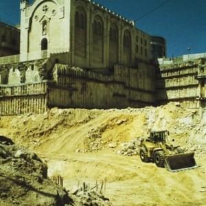בהלת הזהב, ירושלים - לאובר מרסלו, 1998, הדפס למדה, 40x60