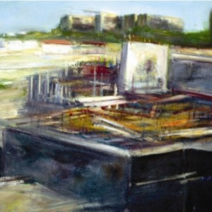 מבטן האדמה - טולדנו דינה, 2005, שמן על בד, 130x100