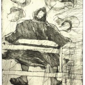 בוקר - וייז ליאורה, 2007, תצריב על נייר, 15x20