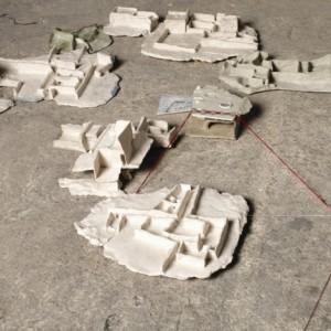 פרטים מתוך י-סודות - טוקטלי טליה, 2008, טכניקה מעורבת, 80x59