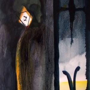 Yury Kharchenko, Jewish identification, 50x40cm, oil on canvas, 2012
