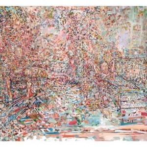 זהר כהן, משפחת דרורי, 2010, שמן על בד, 74X100,Zohar Cohen, Drory Family, 2011, Oil on canvas, 74X100
