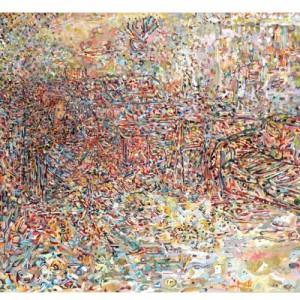 זהר כהן, ציפי , 2012, שמן על בד, 74X100,Zohar Cohen, Tsipi, 2012, Oil on canvas, 74X100