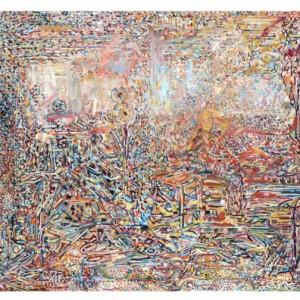 ירמי, שמן על בד Jermia 2010 Oil on canvas 74X100