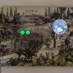 Nivi Alroy, Reprogramming, 2015-16, Installation: Video, sculpture, and watercolor on paper