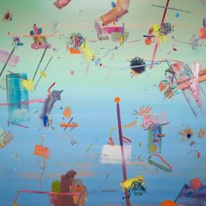 Alon Kedem, Bright Light, 2016, oil on canvas, 175x160 cm