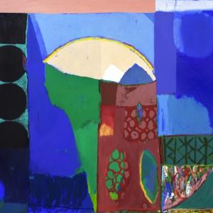 יערה אורן, חדר הבת, 2016, שמן על בד