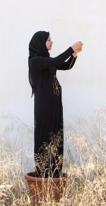 מרואה עבד אלקדר, רנא, 2018, מיצג, צילום ליאן סילברמןMarwa Abd Alkadr, Rana, 2018, Performance, photo Lianne Silberman