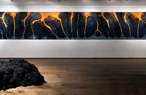 """אורי שפירא מתוך התערוכה """"מבקש-האור"""" 2012 בית האמנים ירושלים"""