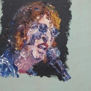 """ג'ורג' קביסרס, ג'ון לנון, 2014, 44X35 x ס""""מ"""