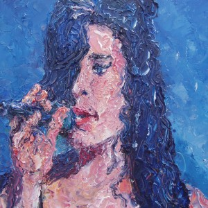 Black as Blueamy Winehousezl, 2013, 40x50 cm