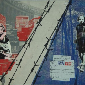 Letters from my Grandparents: London, no. 8, 2012, set of 8 screenprints on Arches paper