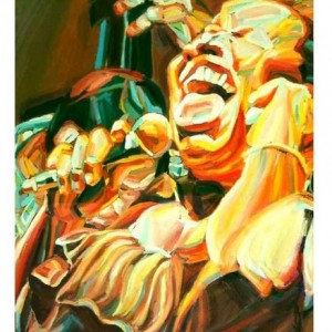 Betty Carter, 2006 Oil on canvas 65 X 50 cm