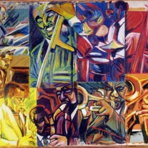 Jazz Squares , 1999 Oil on canvas
