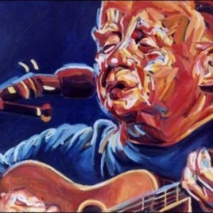 Christy Moore , 2005 Oil on canvas