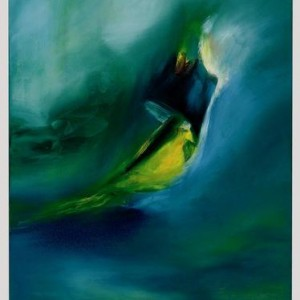 And his compassion on all his creation, 2003 Oil on Canvas 80 X 60 cm