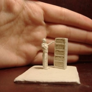 Untitled - Berman Dina, 2006, Hand Made paper Clay, 4x5x2.5 cm