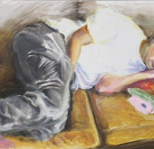 Teenage Years - Revital Nava, 2006, Oil on canvas, 60 X 100cm