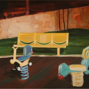 Playground - Charuvi Noa, 2004, Oil on canvas, 80X100 cm